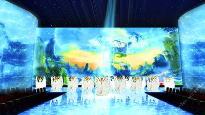 千岛湖水之灵剧院